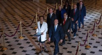 House Impeachment Managers Deliver Articles To The Senate