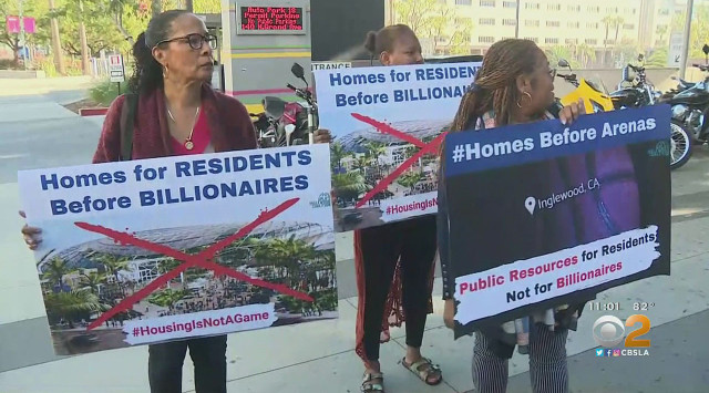 Inglewood Residents Take Clippers To Trial Over Housing