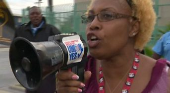 Inglewood School Employees Protest Proposed Pay Cuts